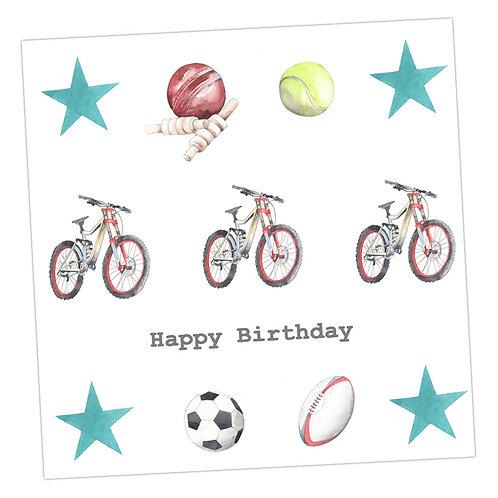 Sporty  Birthday Card