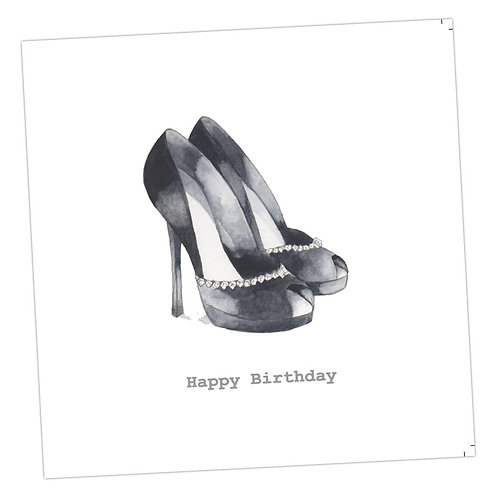 Birthday Shoes Card