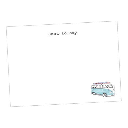Camper Van Note Cards