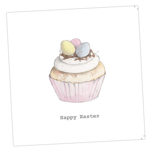 Easter Cupcake Card