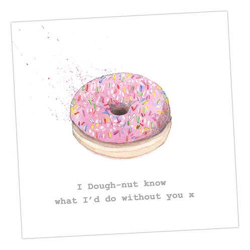 Doughnut Card