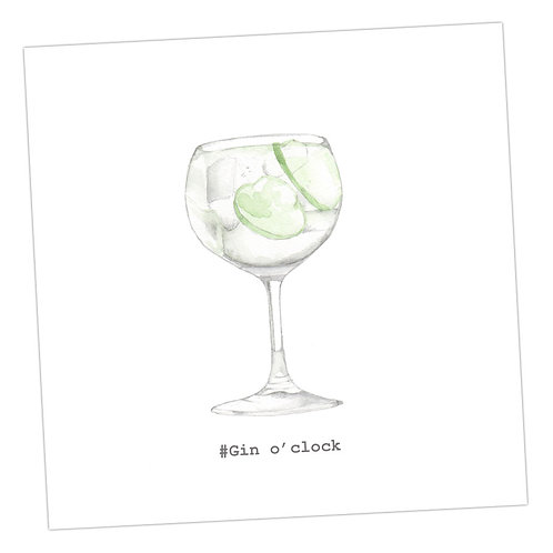 Large G&T Card
