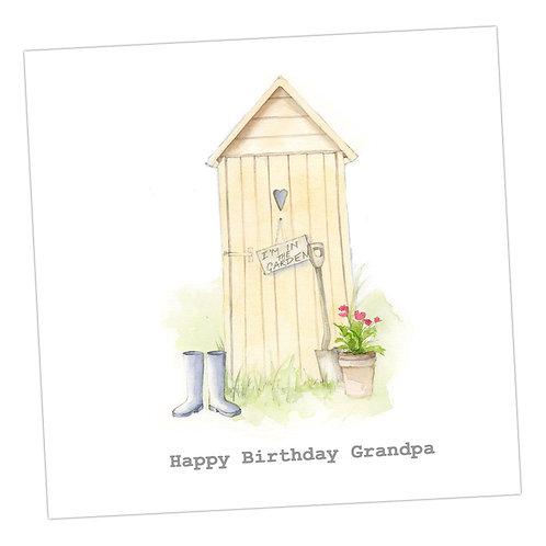 Grandpa Birthday Card