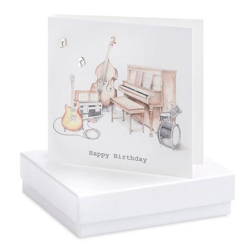 Boxed Earring Card Musical Card