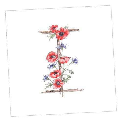 Floral Letters I