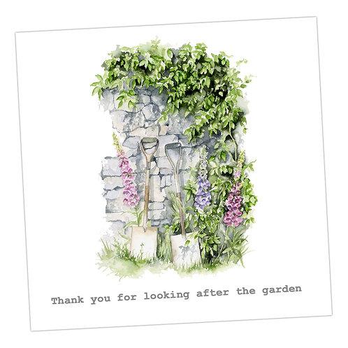 Garden Wall Thank you for.. Card