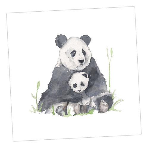 Baby Love Pandas Card