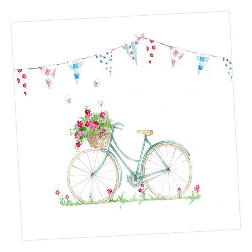 Summer Bicycle Card