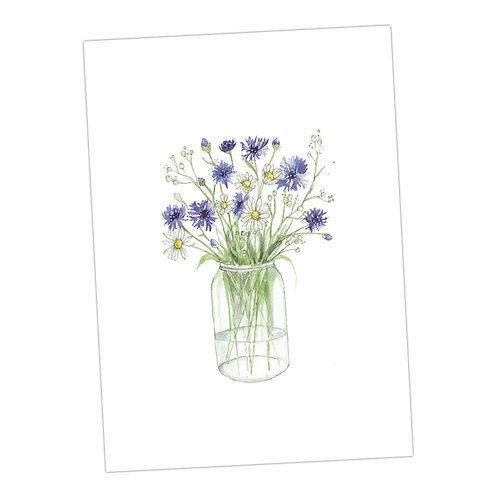 Cornflower Print