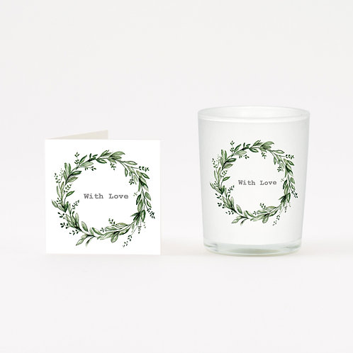 Eucalyptus With Love Boxed Candle & Card