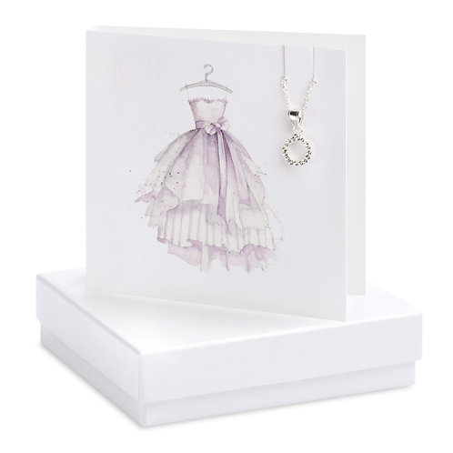 Boxed Party Dress Necklace Card