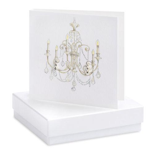Boxed Chandelier Earring Card