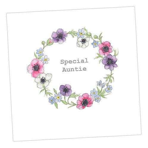 Special Auntie Wreath