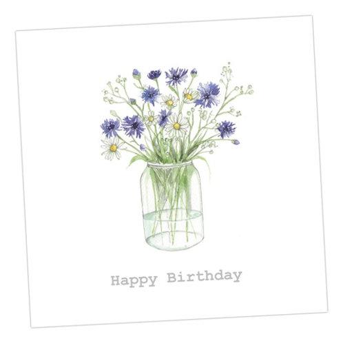 The Really Wild Bunch Birthday Card