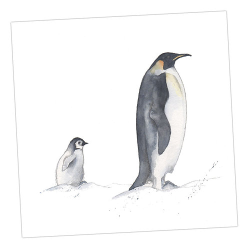 Baby Love Penguins Card