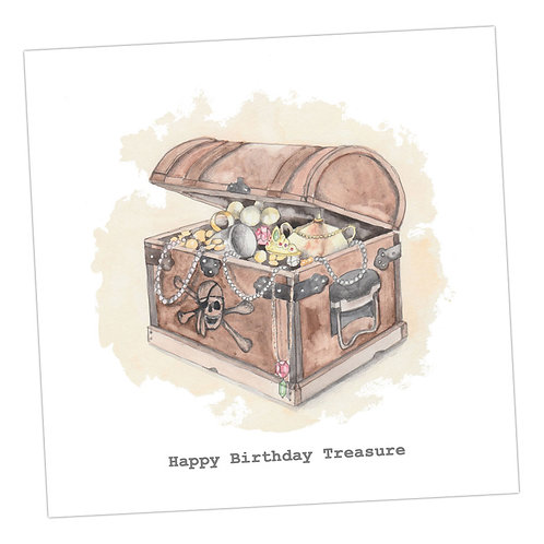 Treasure Birthday Card