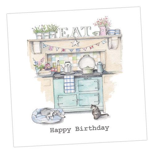 Birthday Aga Card