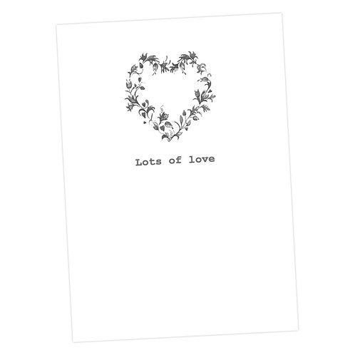 Flower Heart Lots of Love