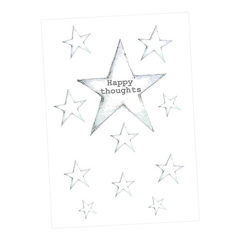 Happy Thoughts Starry Journal
