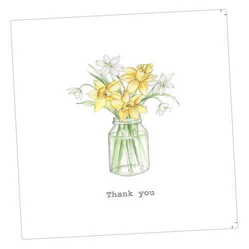 Thank you Daffs Card