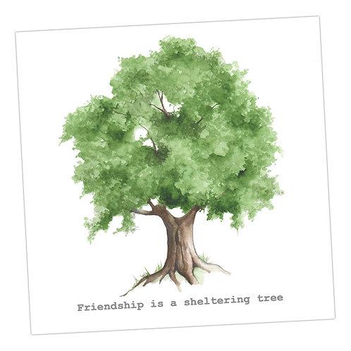 Tree Friendship Card