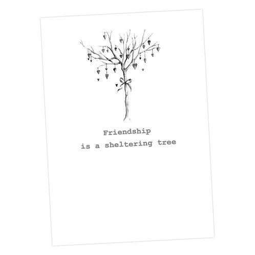 Friendship Tree Card
