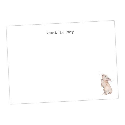 Bertie Bunny Note Cards