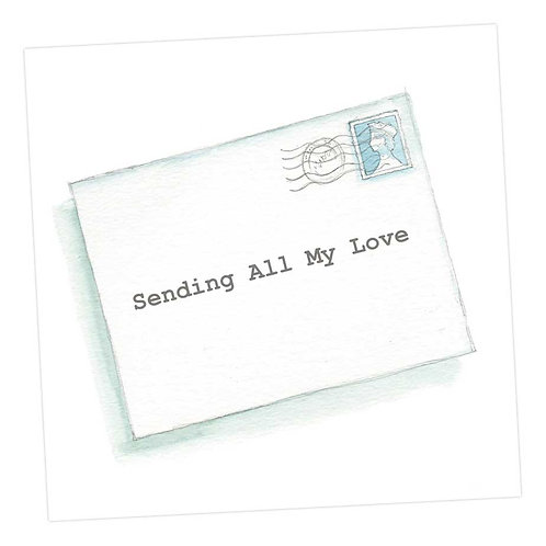 All My Love Card