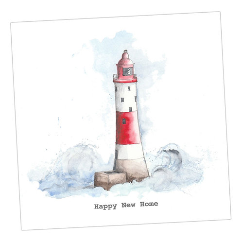 Lighthouse New Home Card