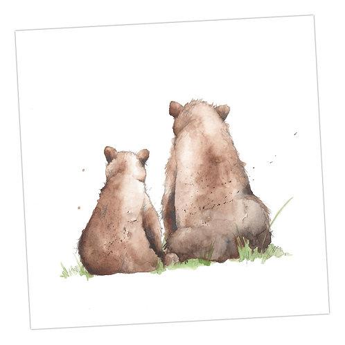Baby Love Bears Card