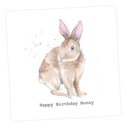 Bertie Bunny Birthday Card