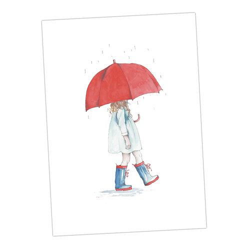 Singing in the Rain Print