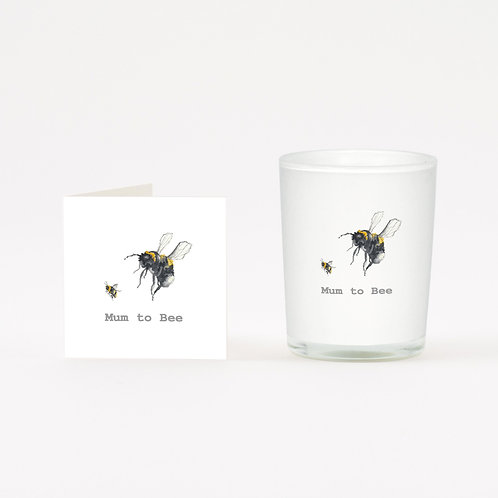 Mum to Bee Boxed Candle & Card