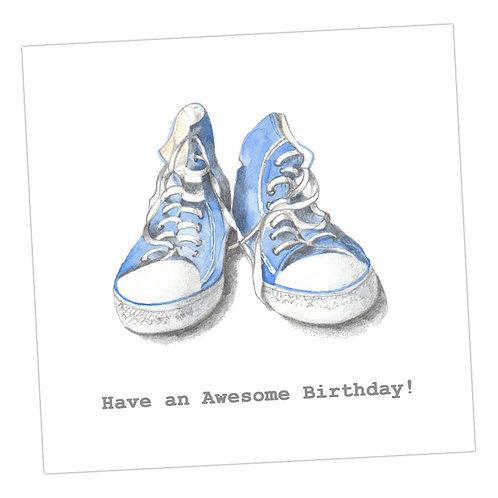 Trainers Birthday  Card