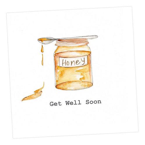 Honey Get Well Card