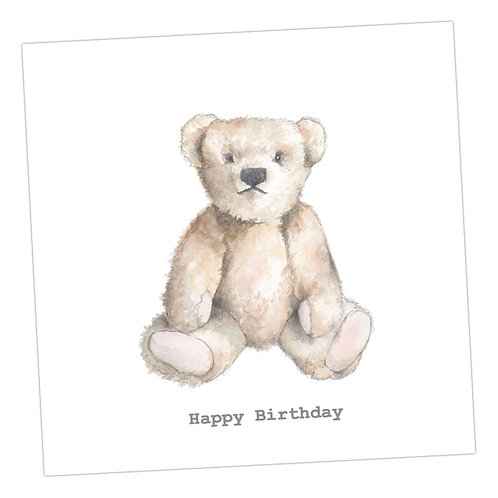 Teddy Birthday Card