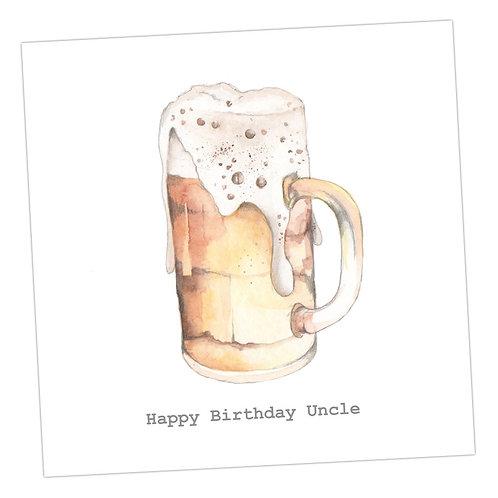 Uncle Beer Card