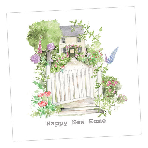 Country Cottage New Home Card