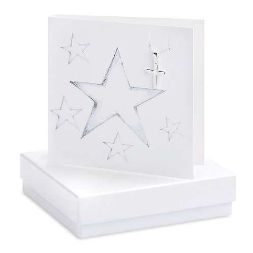 Boxed Star Necklace Card