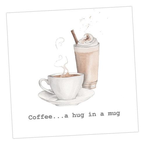 Coffee Hug Card