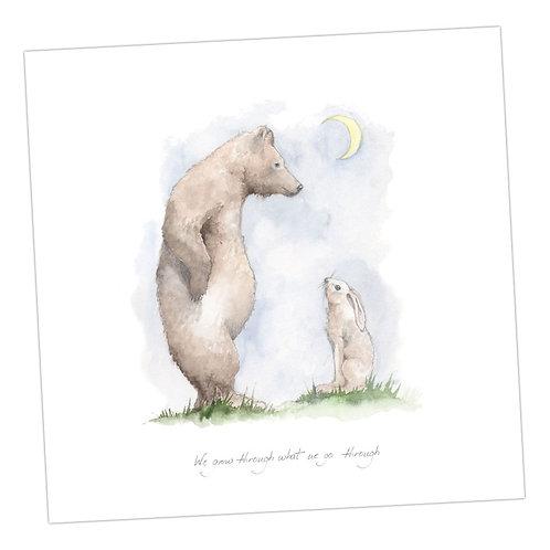 Bear & Hare  Card