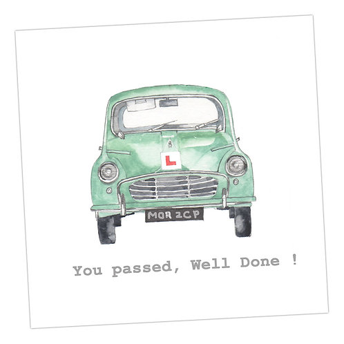 Driving Test Card