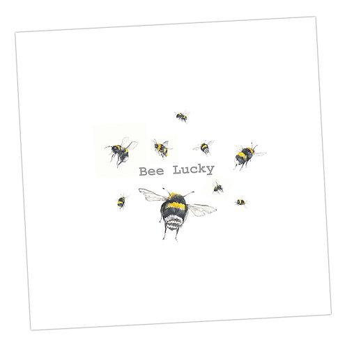 Bee Lucky Card