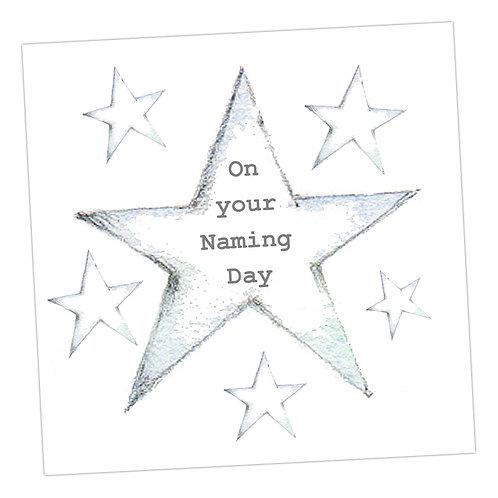 Star Naming Day Card