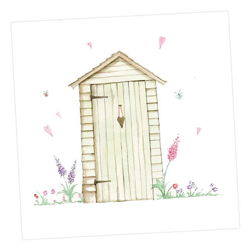 Little Shed Birthday Card