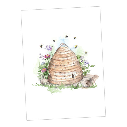 Boxed 'Bumble Bee' pack of assorted A6 cards