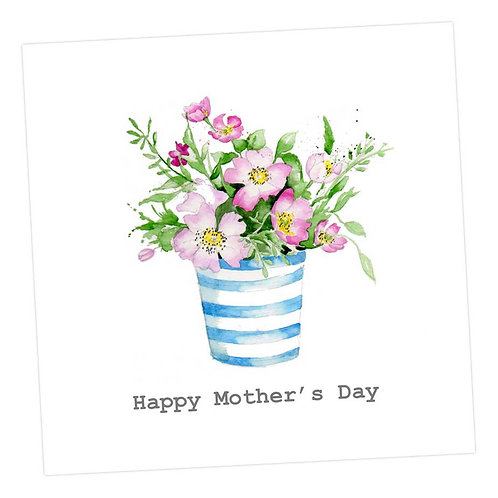 Wild Bunch Mother's Day Card