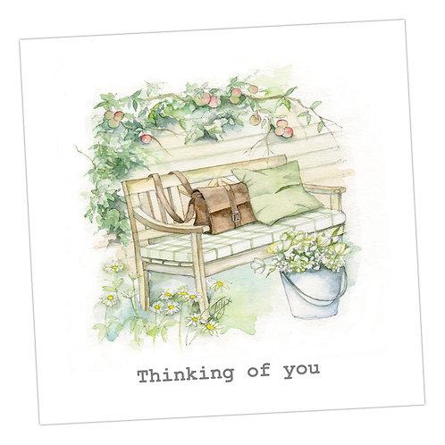 Garden Peace Card