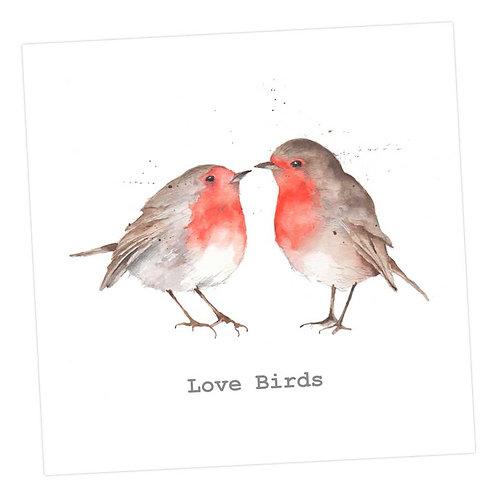 Love Birds, Card
