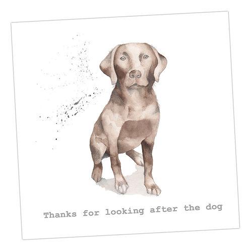 Labrador Thank You Card